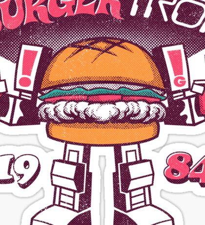 BurgerTRON Sticker