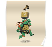 turtle power...up Poster