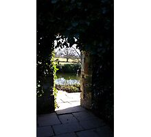 Entrance to a Secret World Photographic Print