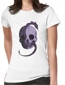 Tête de Mort - Violet Womens Fitted T-Shirt