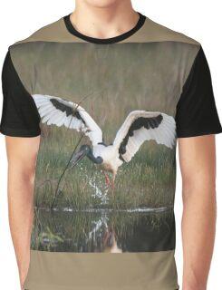 Stork Play Graphic T-Shirt
