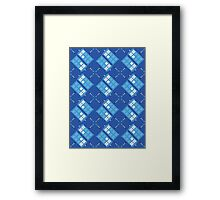 Gallifrey Argyle Framed Print