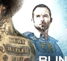 Blindspot TV Show Sketch Sticker