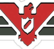 Glory To Arstotzka! ( no text version) Sticker