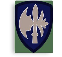 65th Infantry Division 'Battle-axe' (United States - Historical) Canvas Print