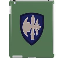 65th Infantry Division 'Battle-axe' (United States - Historical) iPad Case/Skin