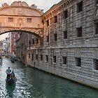 Bridge of sighs Venice by Vicki Moritz