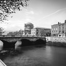 The Four Courts, Dublin by Alessio Michelini