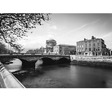 The Four Courts, Dublin Photographic Print