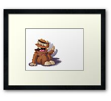 Don't Shut the Door - Page 15 Framed Print