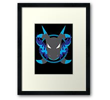 Mega Charizard X Icon Framed Print