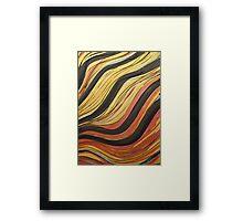 Ink & Charcoal #5 Framed Print