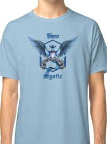 Mystic Team Blue Pokeball Classic T-Shirt