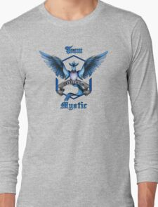 Mystic Team Blue Pokeball Long Sleeve T-Shirt