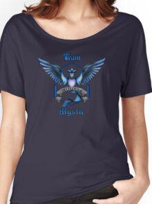 Mystic Team Blue Pokeball Women's Relaxed Fit T-Shirt