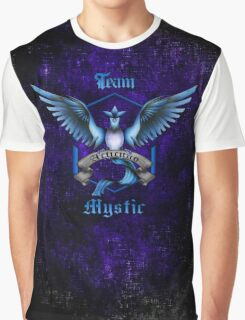 Mystic Team Blue Pokeball Graphic T-Shirt