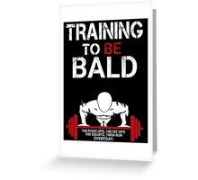 One Punch Man Saitama Training to go bald Cosplay Japan Anime T Shirt Greeting Card