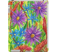 Flowers by the River Thames iPad Case/Skin