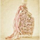 Bottled Lilac Petals by Sandra Foster