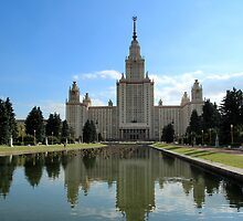 Lomonosov Moscow State University by karina5
