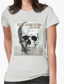Steampunk Charlie Womens Fitted T-Shirt