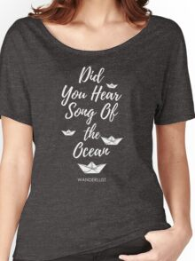 Did You Hear? Women's Relaxed Fit T-Shirt