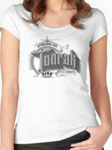 Toorak Women's Fitted Scoop T-Shirt