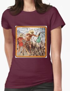 A Day at the Seaside'   Womens Fitted T-Shirt
