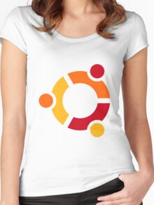 Ubuntu Women's Fitted Scoop T-Shirt