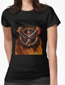 valor burns Womens Fitted T-Shirt