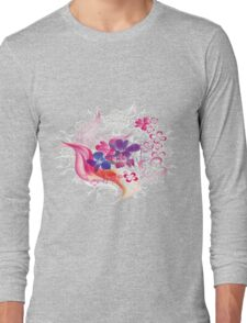 Floral 578 Long Sleeve T-Shirt