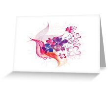 Floral 578 Greeting Card