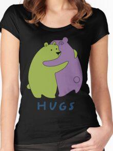 Hugs Women's Fitted Scoop T-Shirt