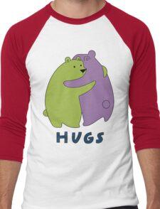 Hugs Men's Baseball ¾ T-Shirt