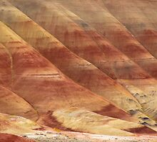 Painted Hills - Up Close And Personal - 3 © by © Hany G. Jadaa © Prince John Photography