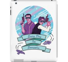 Every Day I'm Smugglin iPad Case/Skin