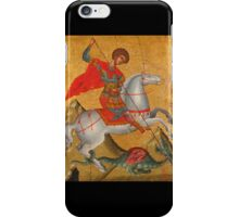 St George and the Dragon iPhone Case/Skin