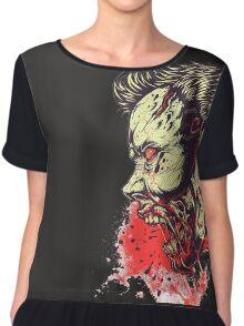 Blood zombie Chiffon Top