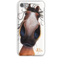 HAPPY HORSE 'FLASH' By Shirley MacArthur iPhone Case/Skin