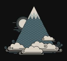 Cloud Mountain Baby Tee