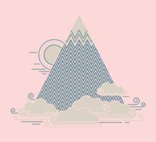 Cloud Mountain One Piece - Long Sleeve