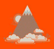 Cloud Mountain Kids Tee