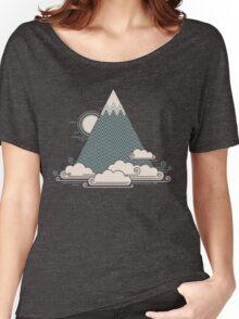 Cloud Mountain Women's Relaxed Fit T-Shirt