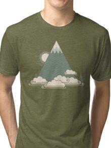 Cloud Mountain Tri-blend T-Shirt