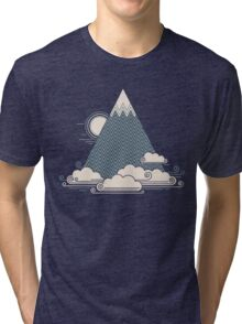 Cloud Mountain Tri-blend T-Shirt
