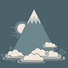 Cloud Mountain by thepapercrane
