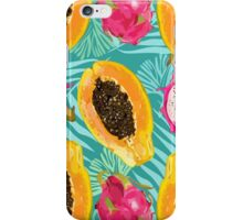 sunny fruit pattern iPhone Case/Skin