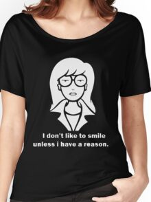 i dont like to smile Women's Relaxed Fit T-Shirt
