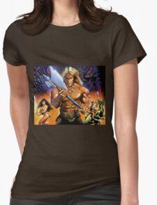 Golden Axe Womens Fitted T-Shirt