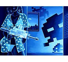 Space Invaders Sexy Photographic Print